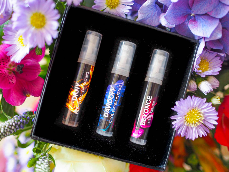 Secret Scent Box - September 2019 - Vials