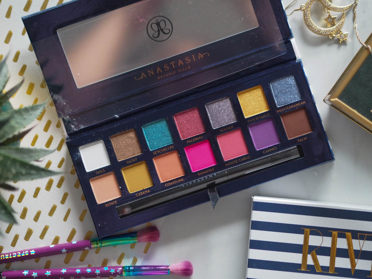 ABH Riviera - The Eyeshadow Palette Tag