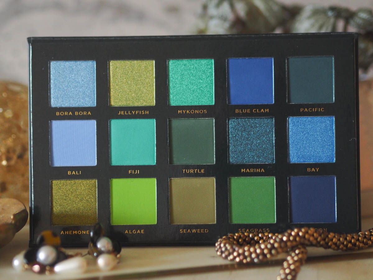Ace Beaute Oceanic Palette - The Eyeshadow Palette Tag