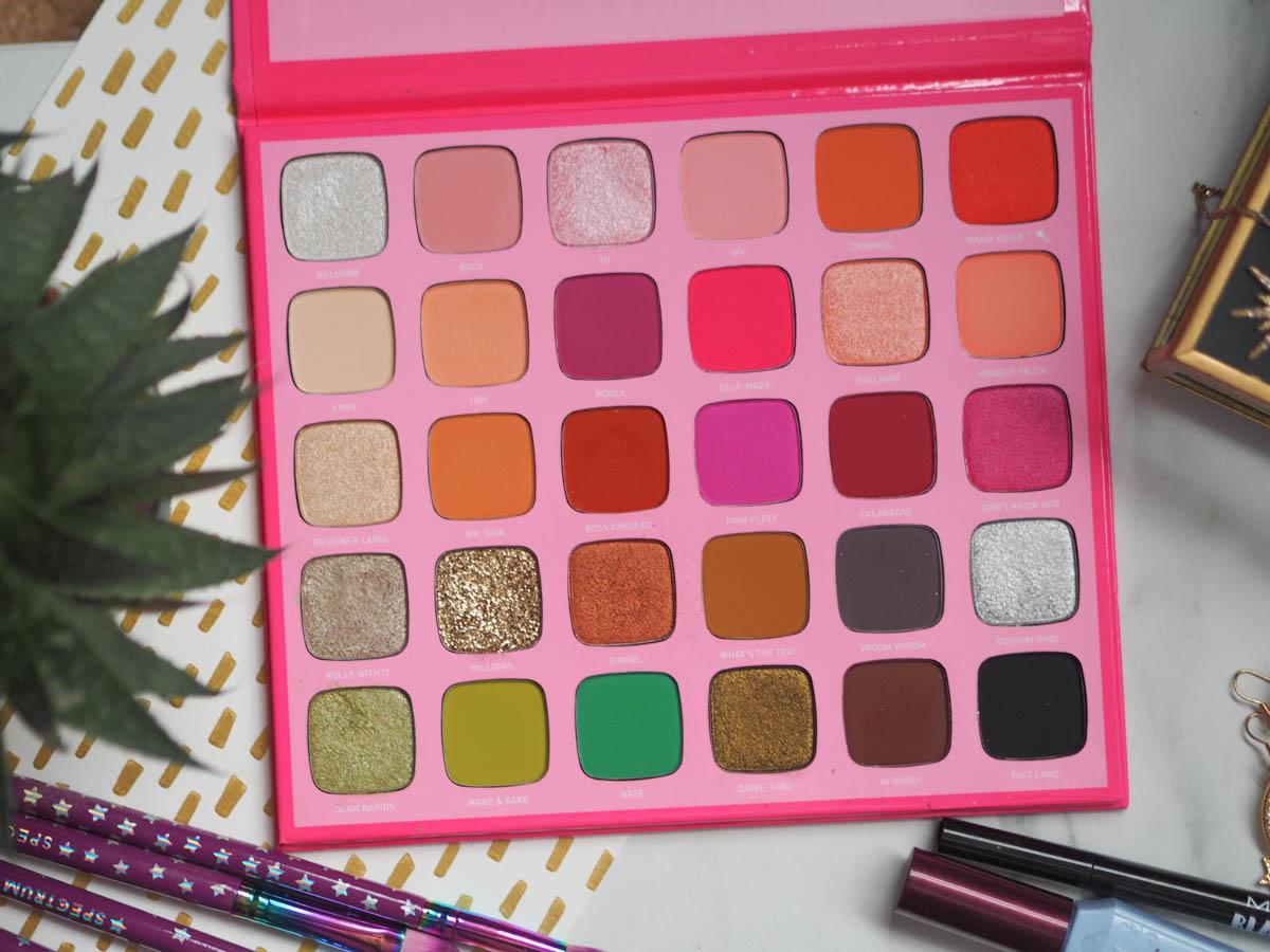 Jeffree Star X Morphe Palette - The Eyeshadow Palette Tag