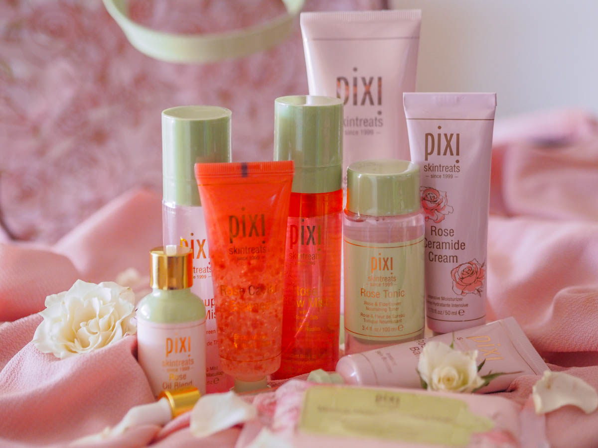 The Pixi Rose Skincare Line – Reviewed on Oily Skin + GIVEAWAY